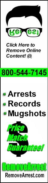 Remove Arrest Records From internet
